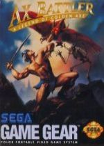 Ax Battler: A Legend of Golden Axe cover