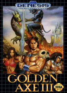 Golden Axe III cover