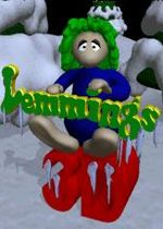 Lemmings 3D Winterland cover