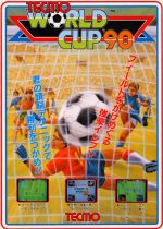 Tecmo World Cup 90 cover